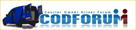 codforum - the freelance courier owner driver forum